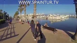 Puerto Alicante, Порт Аликанте, Valencia, недвижимость в Испании, Аликанте spaintur.tv(Привет! Я записал 3 видео с ГОПРО с велика (вы знаете я люблю движения постоянно), посмотрю на просмотры и..., 2016-06-09T23:55:00.000Z)