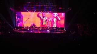bruno mars band introductionend first set madison square garden july 14 2014