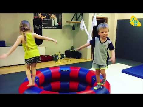 Надувные акробатические снаряды для детей