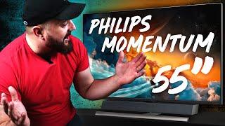 Šis Monitors ir priekš PLAYSTATION 5. 120hz 55'' PHILIPS MOMENTUM 558M1RY