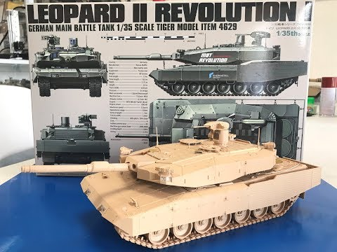 Build review Tiger models 1/35 Leopard II Revolution I