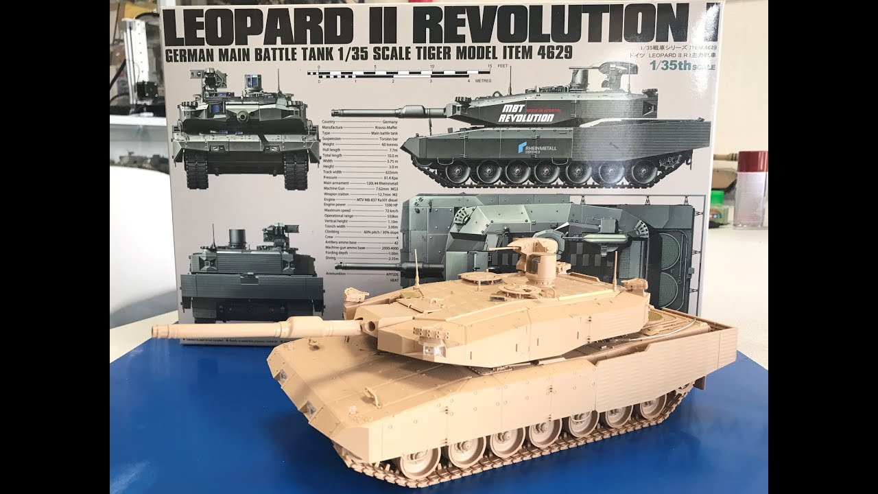 7adf5e848879 Build review Tiger models 1 35 Leopard II Revolution I. Andy s Hobby  Headquarters