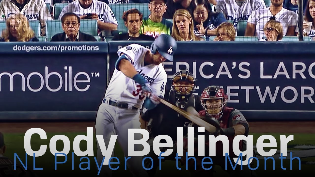 Cody Bellinger Named NL Player of the Month