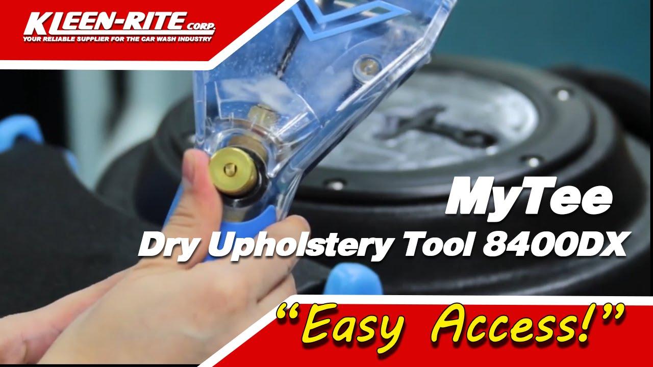 Mytee Dry Upholstery Tool 8400dx Youtube
