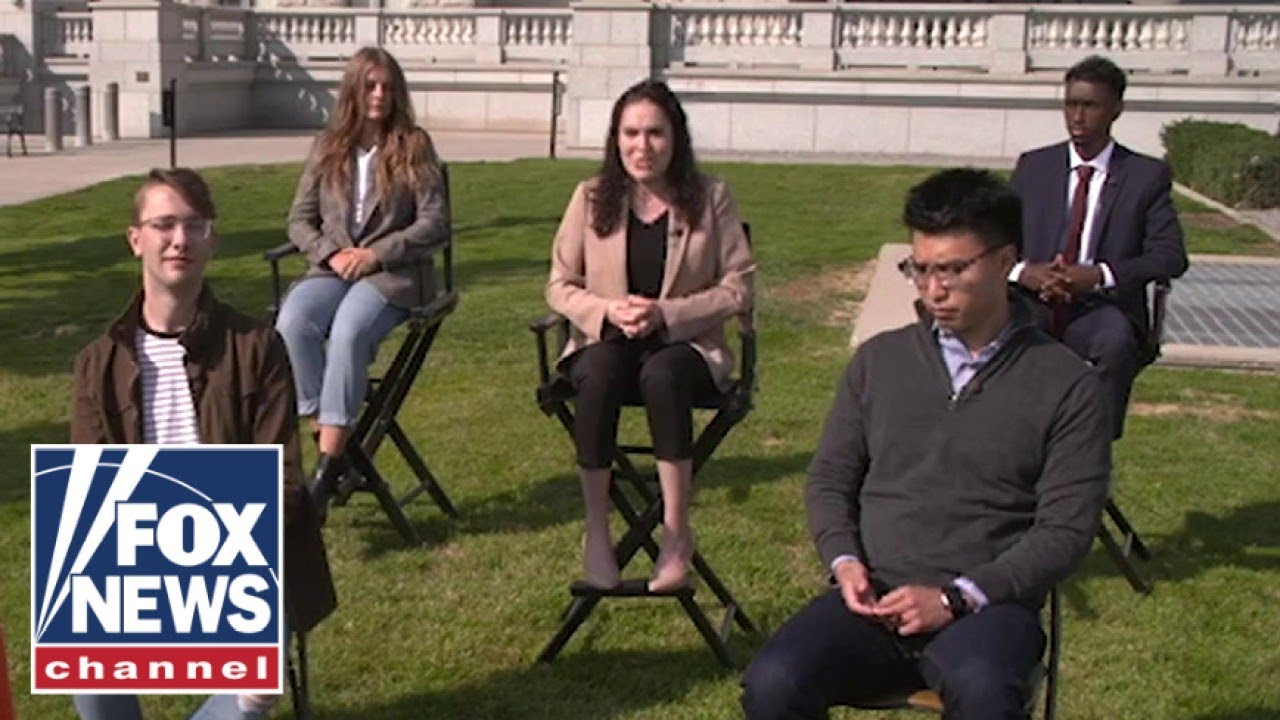 College students give surprising answer to which candidate they think will win