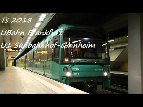 Train Simulator 2018: U-Bahn Frankfurt☆ U1 Südbahnhof-Ginnheim ☆