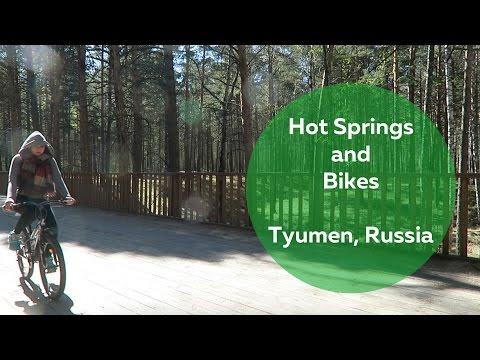 Hot Springs and Bikes, Tyumen, Russia | Olya Huntley [Travel] Vlog 42
