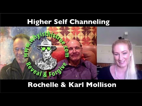 Higher Self Channeling Rochelle & K Mollison 19Oct2017