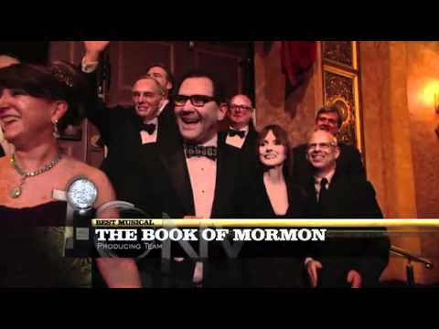 Tony Awards Acceptance Sches - Book of Mormon - Best Musical