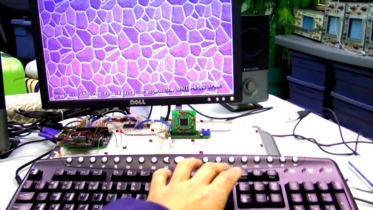 6502 Computer Prototype