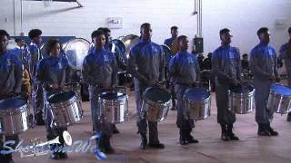 McKinley vs Belaire High - 2015 McKinley High Drumline Showcase
