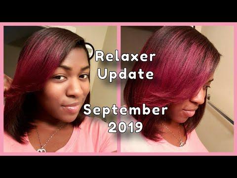 Relaxer & Hair Update September 2019