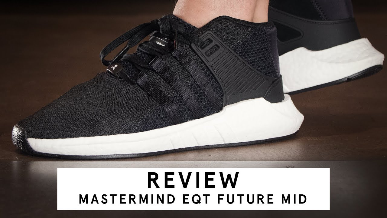 detailed look 2d18e e4eea Mastermind x Adidas EQT Support Future Mid  Review (German)