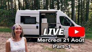 Live Van Life - Femme au volant 🚐👍😎 - Fourgon aménagé et camping car - Part 1