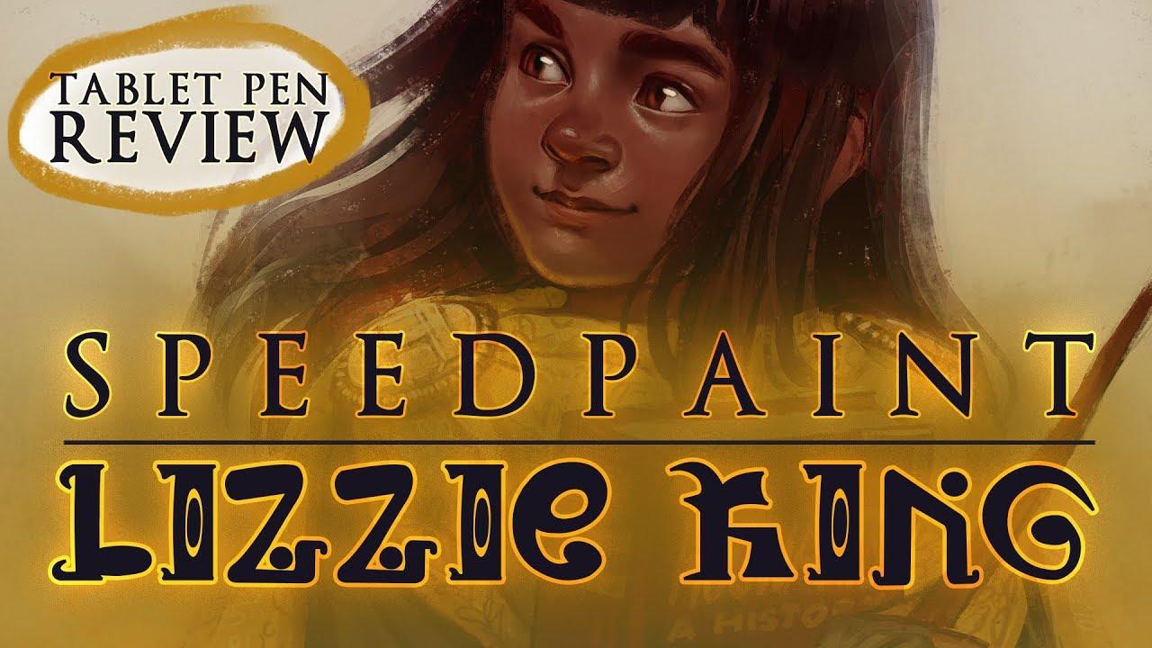 "[GAOMON S620 review + speedpaint] SAI 2 - ""LIZZIE KING"" (Hogwarts Mystery Character)"