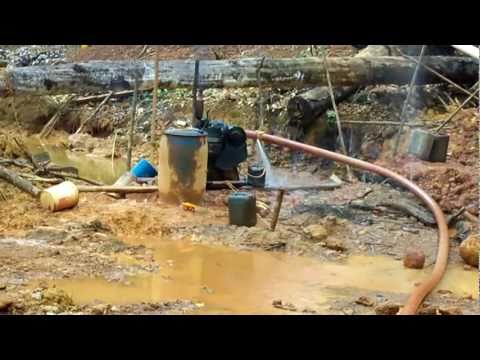 Guyana (South America) Gold Mining Operation - DREAM System