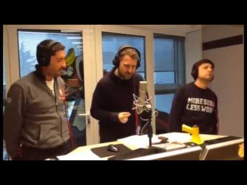 NEKNOMINATION Trio Medusa su Radio Deejay