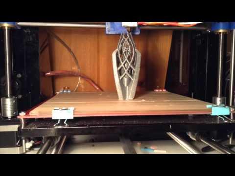 3d printing gandalf the white's staff