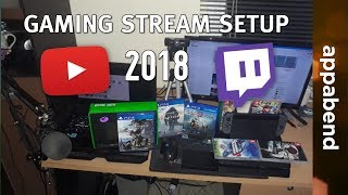 How to Setup PC/Console Gaming Livestreams on YouTube & Twitch 2018