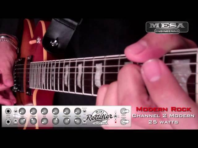 MESA/Boogie Mini Rectifier Ch. 2 MODERN – Rock