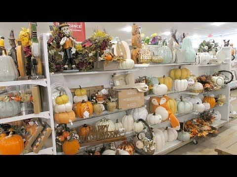 Shop With Me  Homegoods & Tj Maxx  Fall Decor 2018 + Fall Decor Haul
