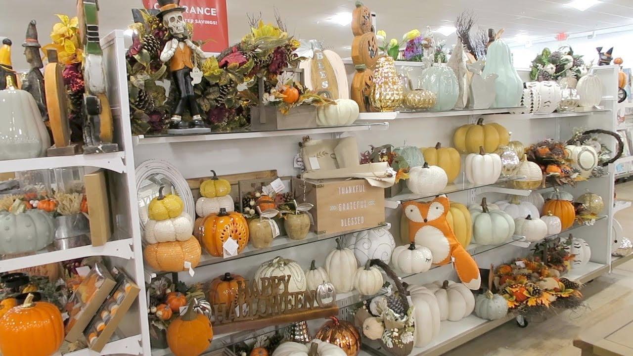Shop With Me Homegoods Tj Maxx Fall Decor 2018 Fall Decor Haul
