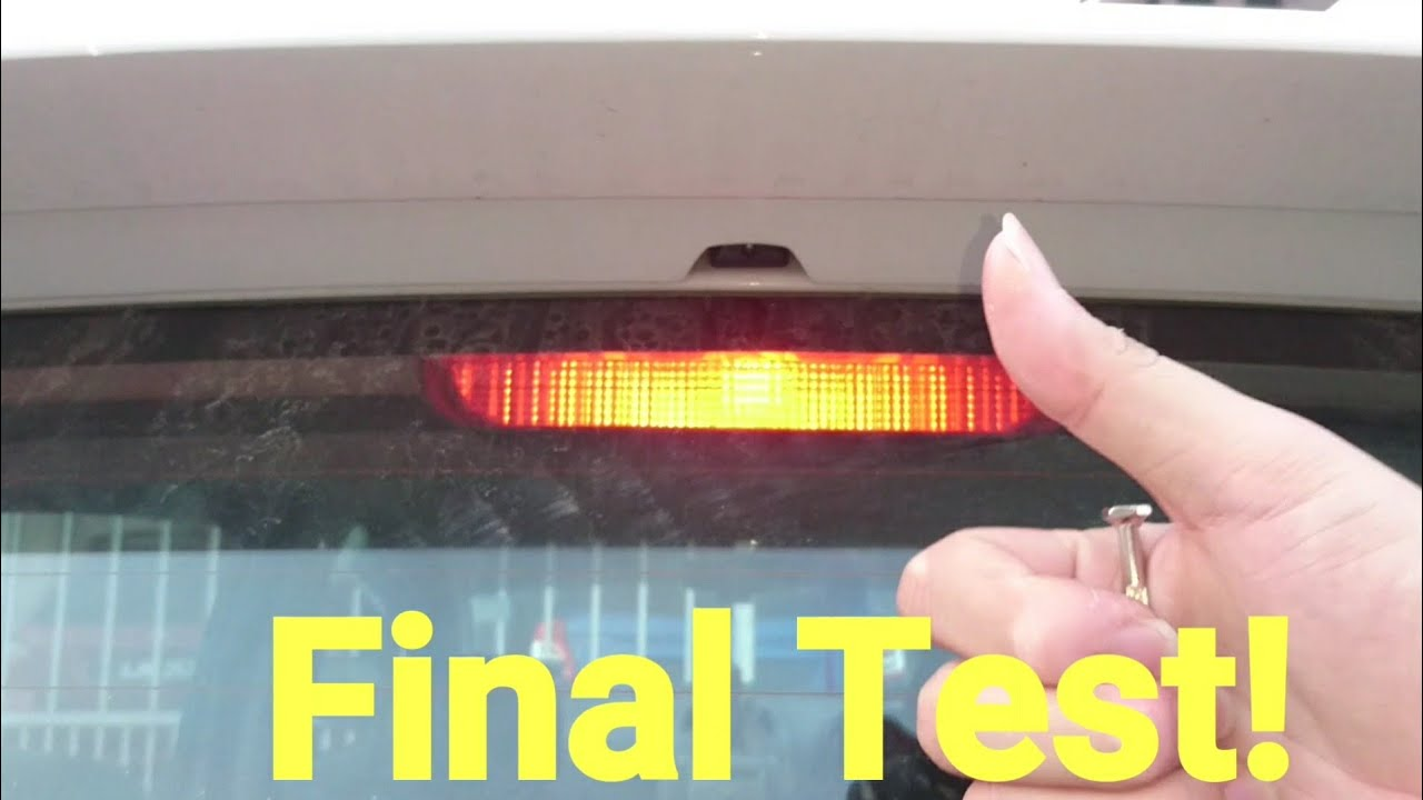 3rd Brake Light LED Bulb Change Perodua Myvi | Cars