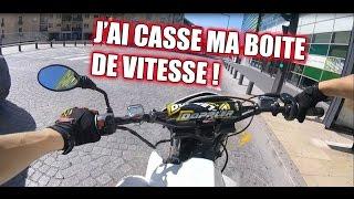 BALADE   J'AI CASSE MA BOITE DE VITESSE !