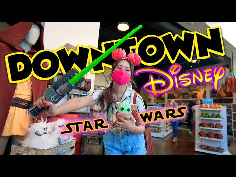 Star Wars Trading Post Arrives At Downtown Disney And Sprinkles Finally Opens! Disneyland Resort