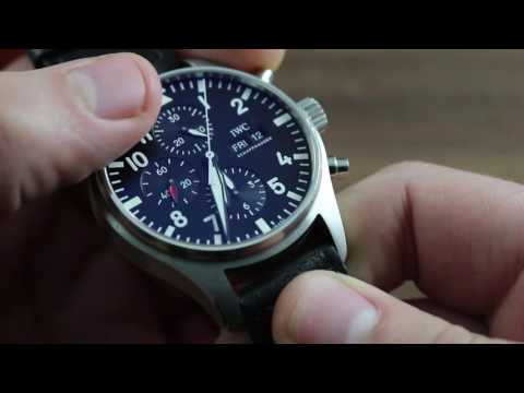 IWC Pilot's Watch Chronograph IW3777-09 Showcase Review