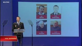 Công bố tên 4 nghi phạm bắn rơi máy bay MH17 (VOA)