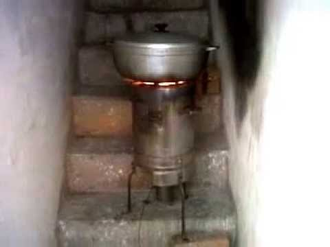 Eco estufa de le a sin humo youtube - Como hacer una cocina de lena ...