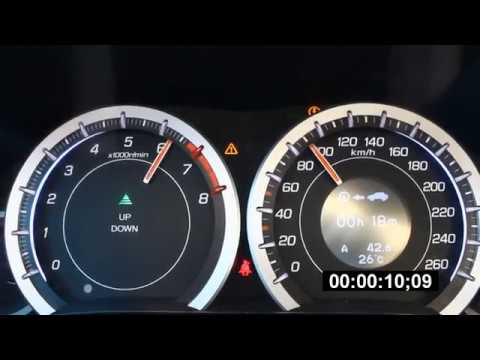 Honda Accord 8 2.0 0-100 acceleration.