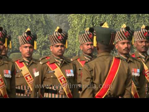 Presidents' men at the Changing of Guard, Rashtrapati Bhavan!