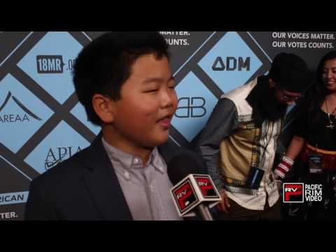 HUdson Yang of Fresh Off The Boat says he's #IAmAsianAmerican