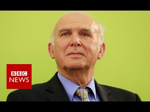 Vince Cable is new Lib Dem leader- BBC News