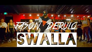 Jason Derulo - Swalla (feat. Nicki Minaj & Ty Dolla $ign - Choreography By - @Thebrooklynjai