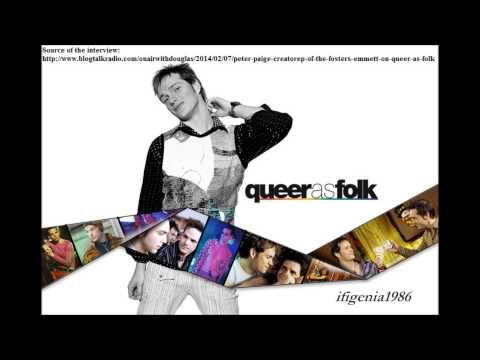 Peter Paige Interview on Air With Douglas - February 6, 2014 (QAF reunion interviews)