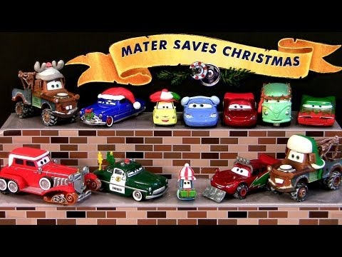 Mater Saves Christmas Holiday Edition 14 CARS Diecasts Story ...