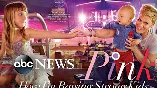 Pink graces the cover of the 'Beautiful' issue of People magazine