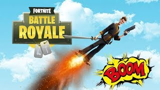 FLYING With The Jump Pad (Fortnite Battle Royale)