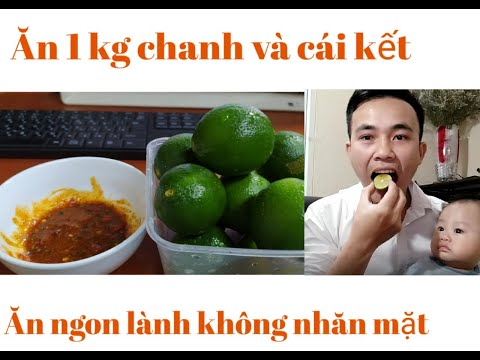 THỬ THÁCH ĂN 1KG CHANH TƯƠI   VI HOÀNG PHI   Kênh Giải Trí