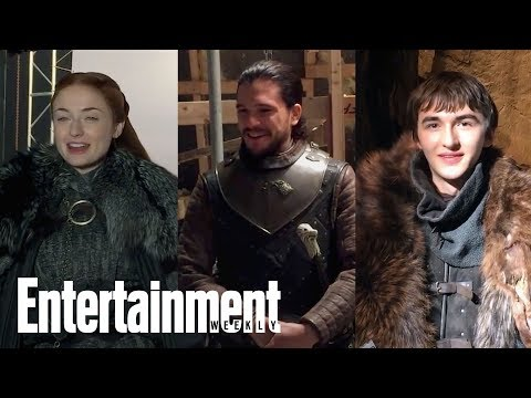 Game of Thrones: What A Stark Family Reunion Would Be Like | Cover Shoot | Entertainment Weekly
