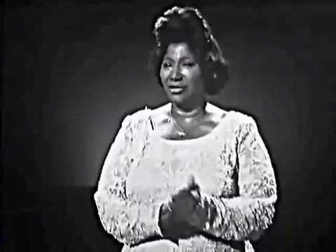 Queen of Gospel Mahalia Jackson Didnt Rain 1964 52 Years OLD