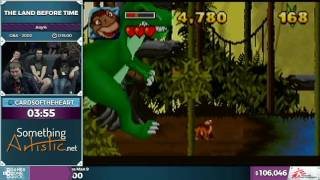 The Land Before Time by CardsOfTheHeart in 0:11:29 - SGDQ2016 - Part 23