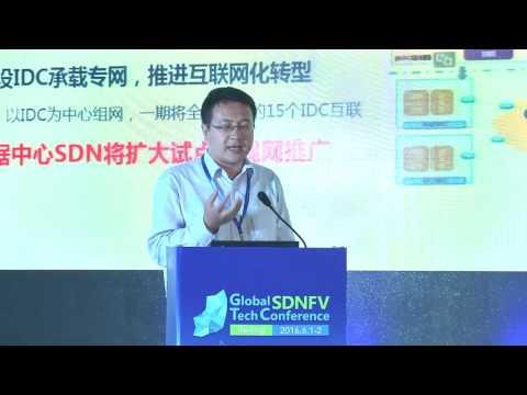 Wang Feng - China Telecom - SDNFV 2016