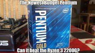 Intel Pentium Gold G5400 Review (Vs Ryzen 3 2200G)