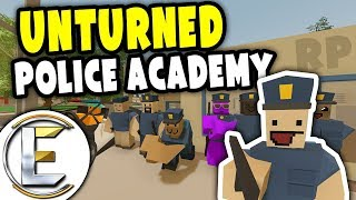 Police Academy | Unturned Instructor RP - Training up rookies and cadets (Roleplay)
