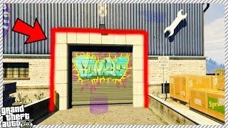 NEW SECRET MILLIONAIRE GARAGE HIDEOUT LOCATION! (GTA 5 GAMEPLAY)