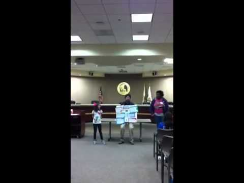 Youth Community Service Project Grant Proposal Presentation